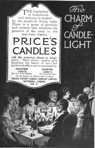 Price's Candles, 1915