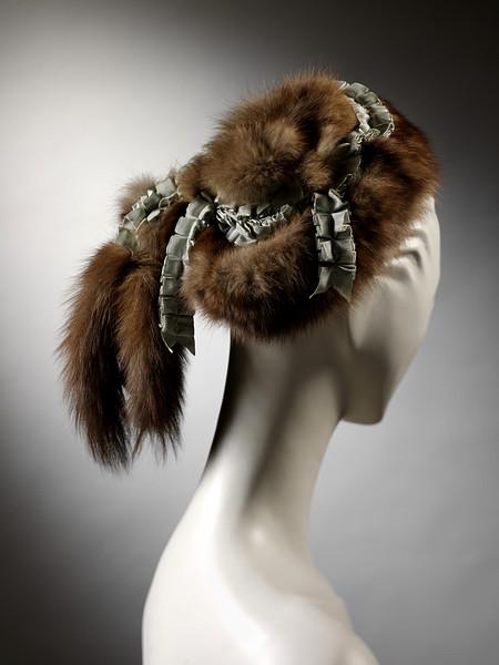 1865-1870 Sable Hat