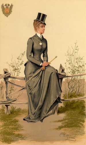 1884 riding habit