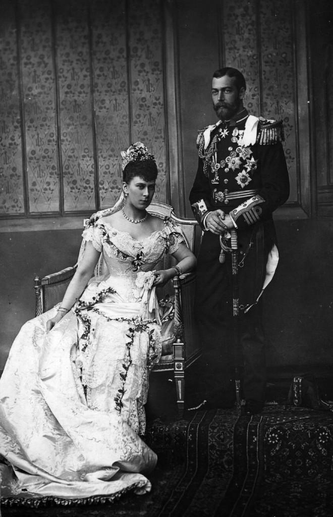 Princess Mary of Teck and Prince George, Duke of York