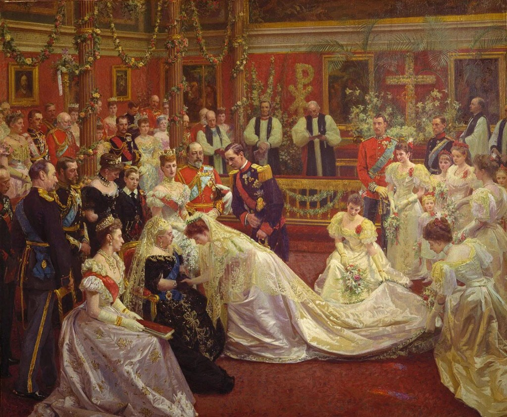 1896 Marriage of Princess Maud of Wales