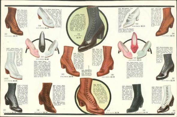 1913 shoe ad