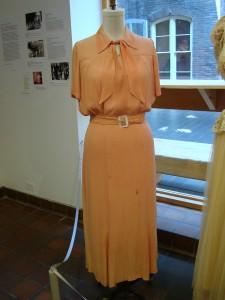 1935 Rayon Crepe dress