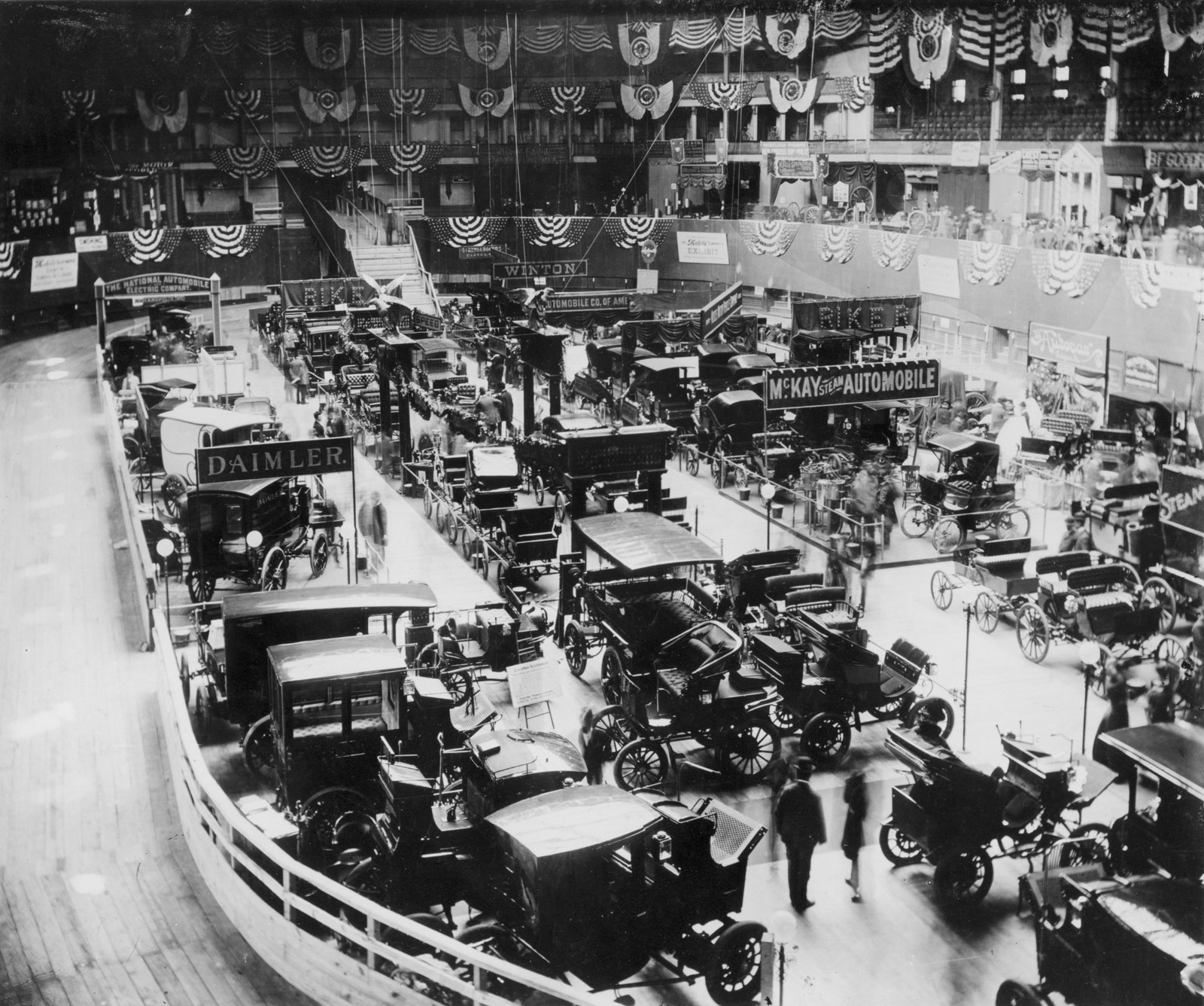 1st National Auto Show, 1900
