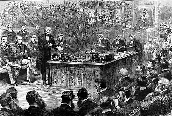 Gladstone in Parliament