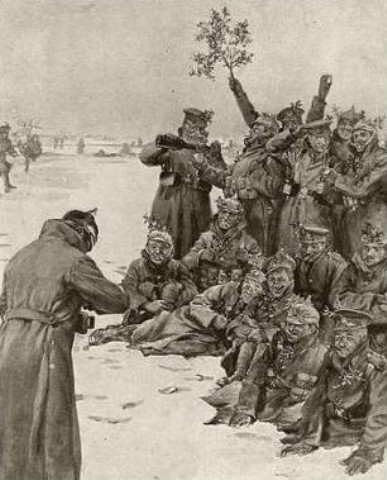 great war christmas truce