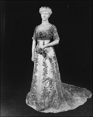 helen taft's inauguration gown