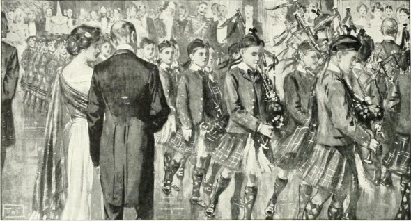 At the Caledonian Ball, 1902
