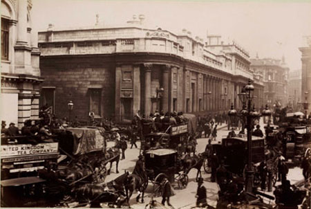 Bank of England ca 1890
