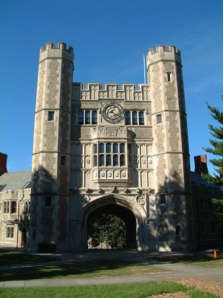 Blair Arch at Princeton University from Wikimedia Commons
