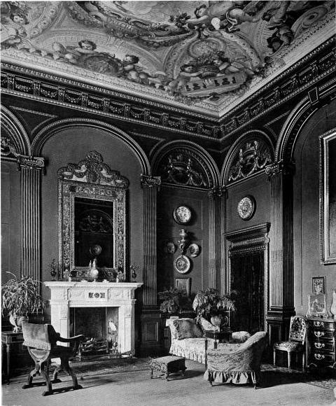 The boudoir in Westonbirt House
