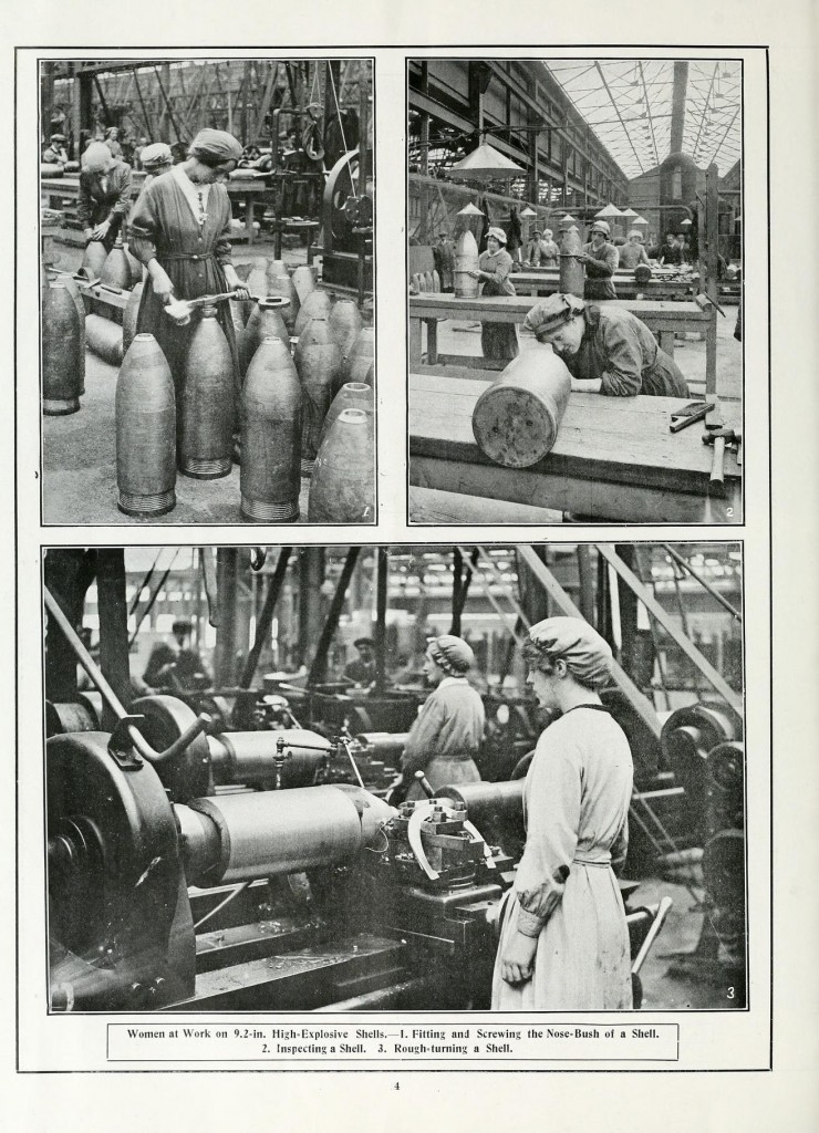 British Women in a Munition's Factory