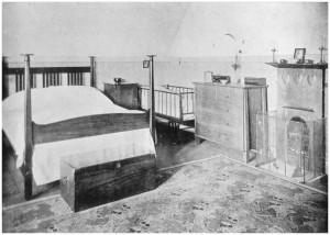 C.F.A. Voysey bedroom
