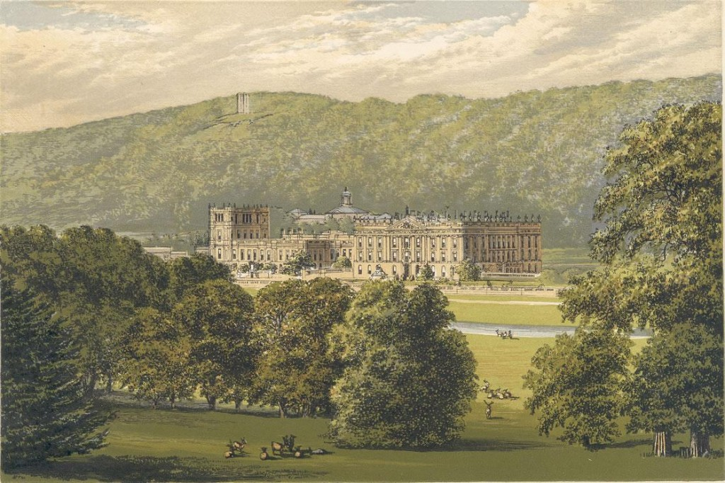 Chatsworth in the 1880s