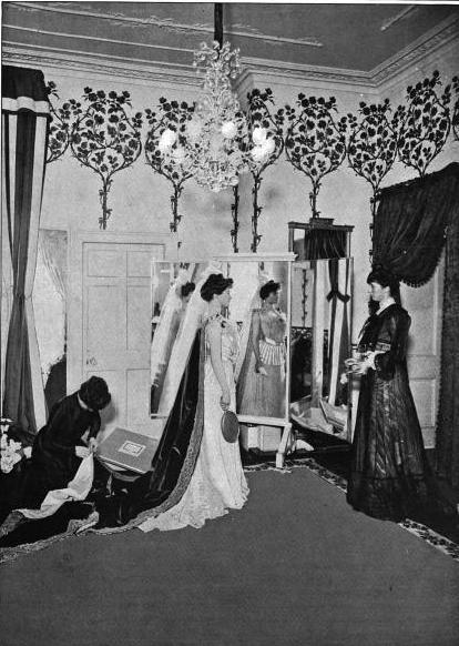 Court dressmaker