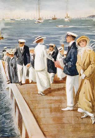 Cowes Week, 1912