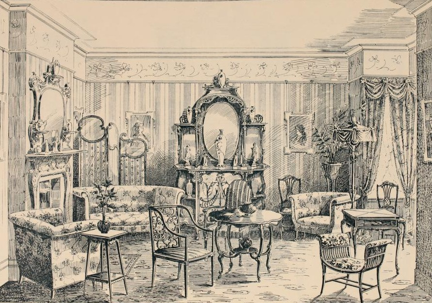 Interior Design Edwardian Promenade