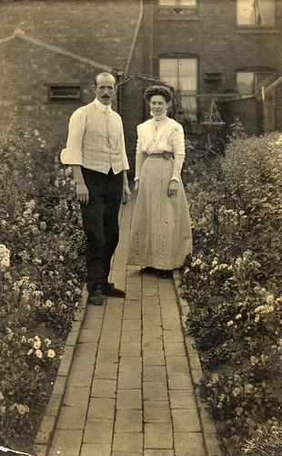 Edwardian gardening