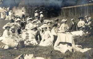 Edwardian picnic