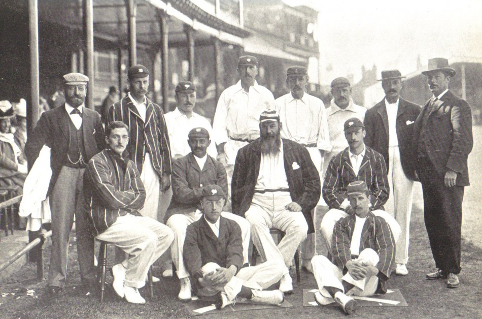 England cricket team at Trent Bridge 1899