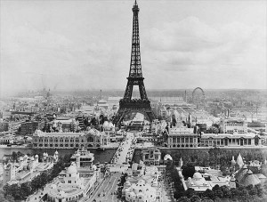 view of Paris 1900