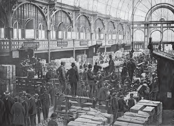 Fruit Auctions at Covent Garden