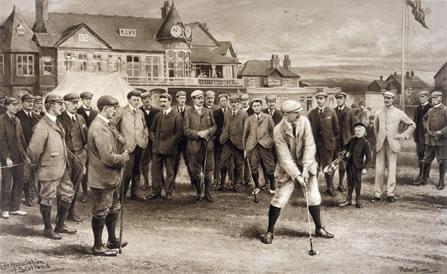 Golf Match, 1902
