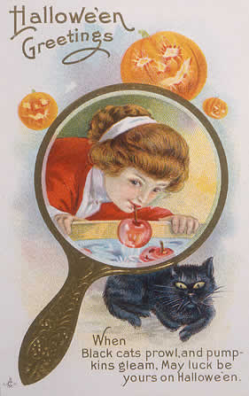 Halloween in the gilded age edwardian promenade bobbing for apples m4hsunfo