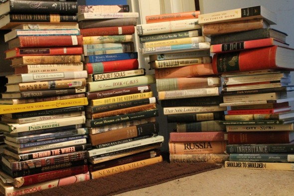 Evangeline Holland's Edwardian research library