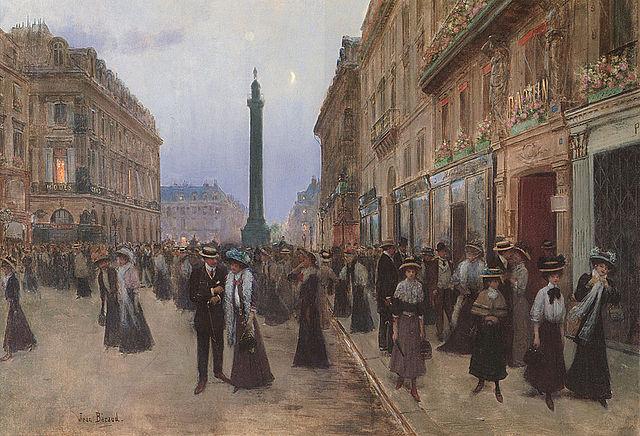 Jean Béraud - La Rue de la Paix