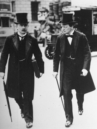 Lloyd George and Churchill