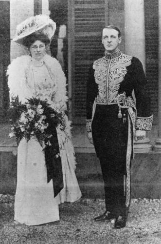 Lord and Lady Chelmsford at Government House Brisbane 1905