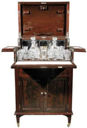Mappin & Webb drinks cabinet
