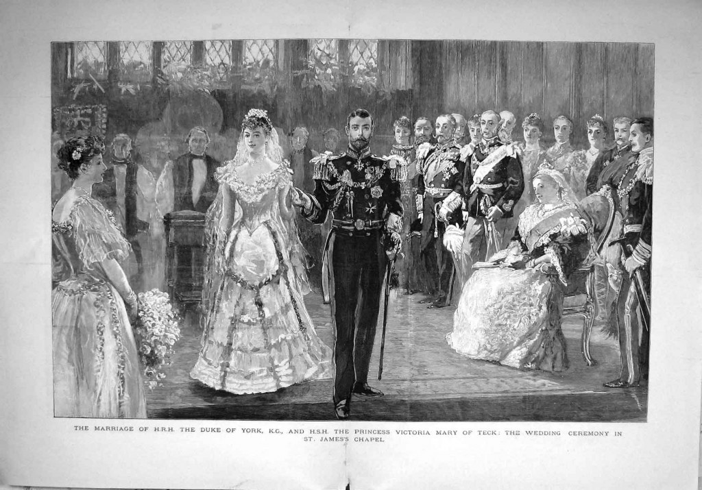 Marriage of George and Mary