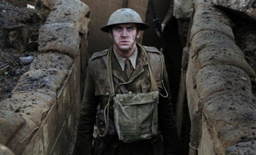 Matthew Crawley in the trenches