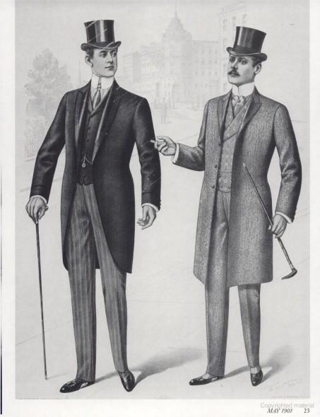 Edwardian Menswear