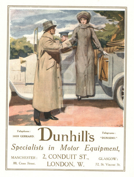 Motoring costume circa 1914