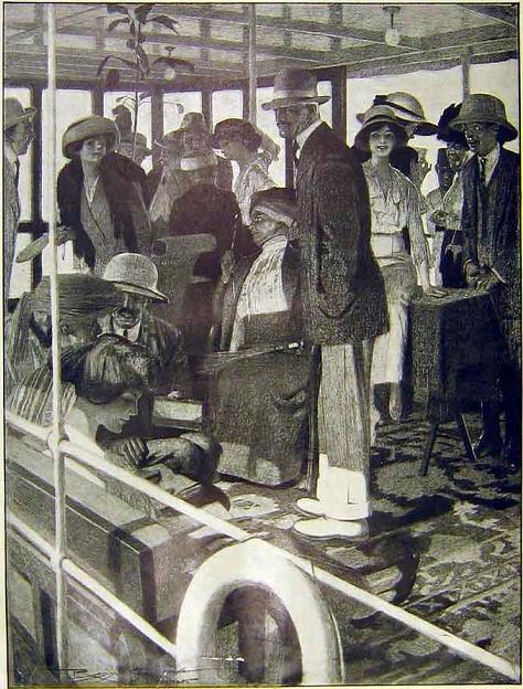 Nile Steamer, 1914