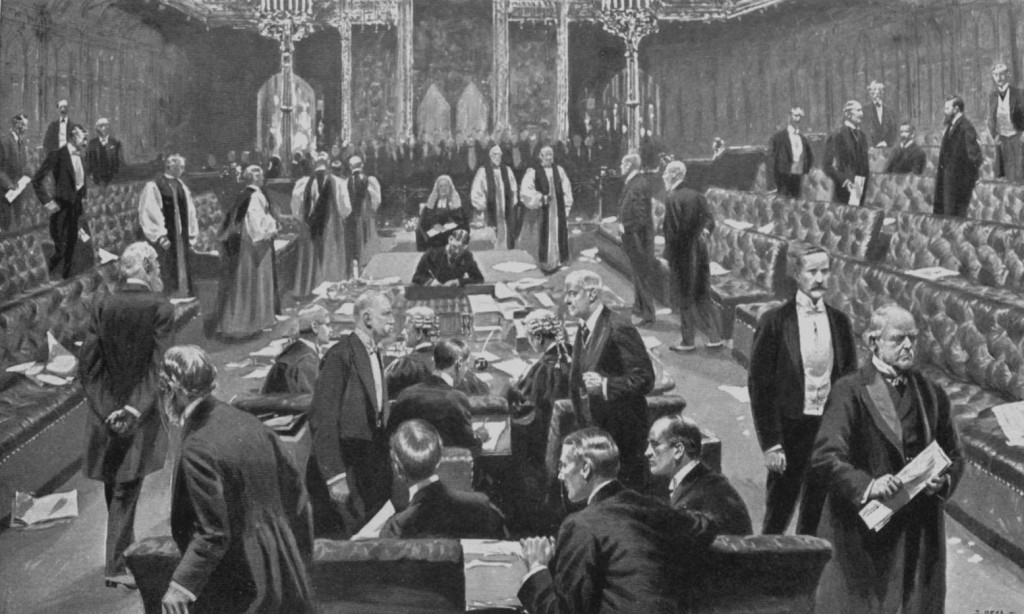 Passing of the Parliament Bill, 1911