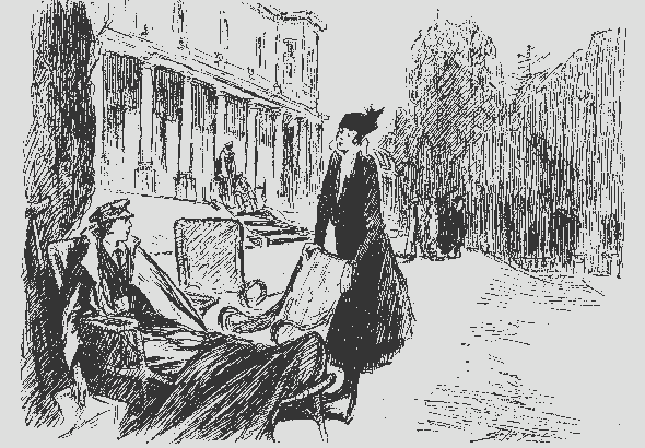 Punch cartoon, 1916
