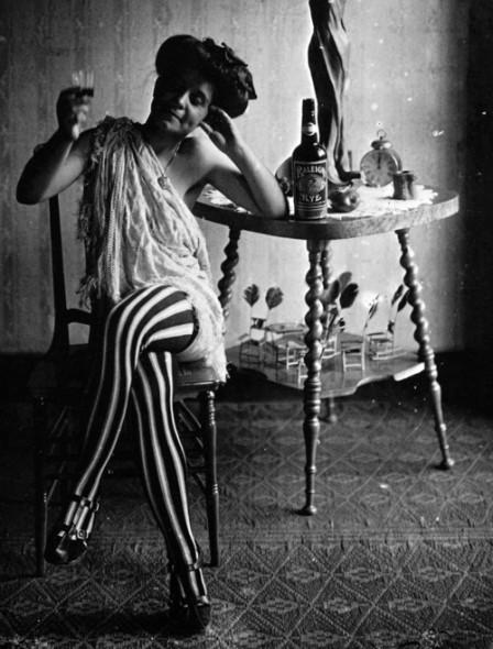 Storyville prostitute, 1912