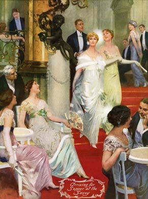 Supper at the Savoy 1913-14