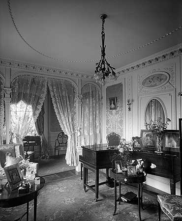 The boudoir at Moray Lodge © English Heritage