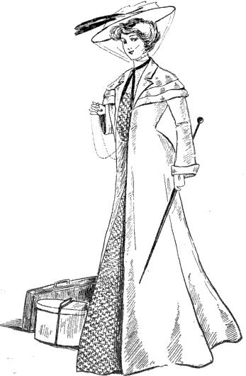 Traveling coat, 1902