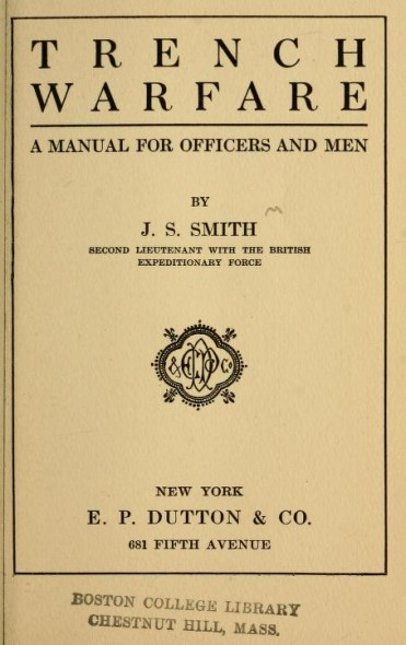 Trench Warfare by J.S. Smith
