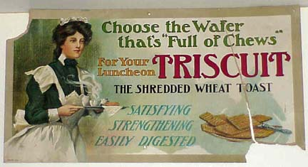Triscuit advert