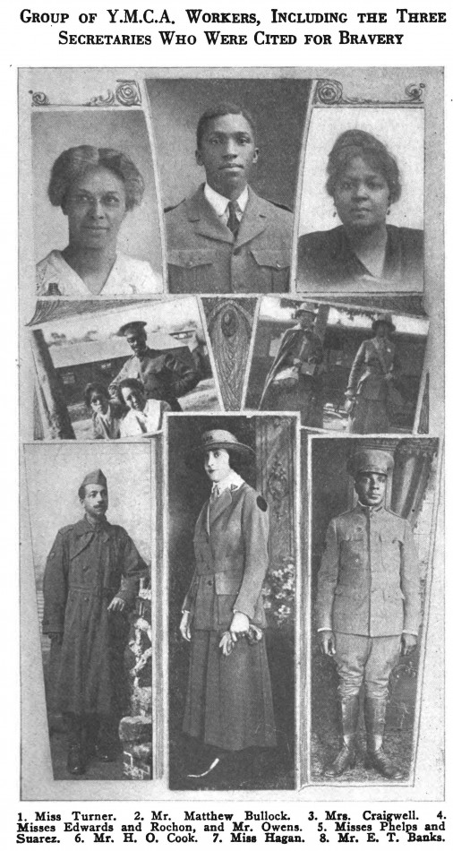 African-American YMCA workers in WWI