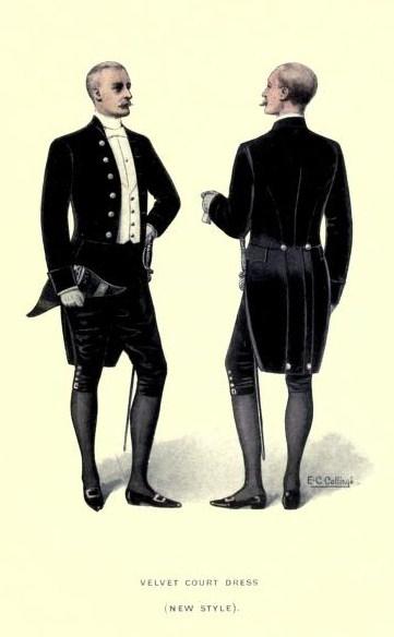 Velvet Court Dress (New Style)