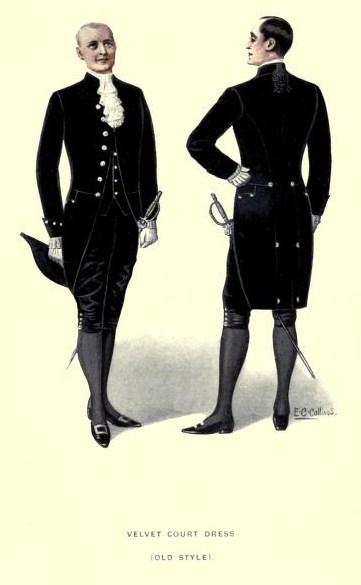 Velvet Court Dress (Old Style)