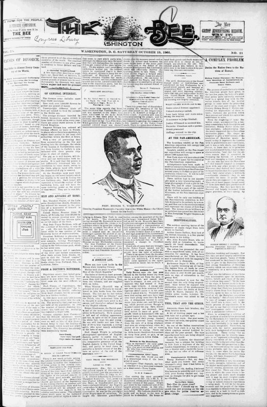 Issue of The Bee